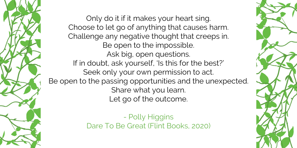 Heart Sing quote by Polly Higgins